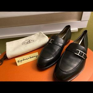 Hermes Monterey loafers - Noir size 41